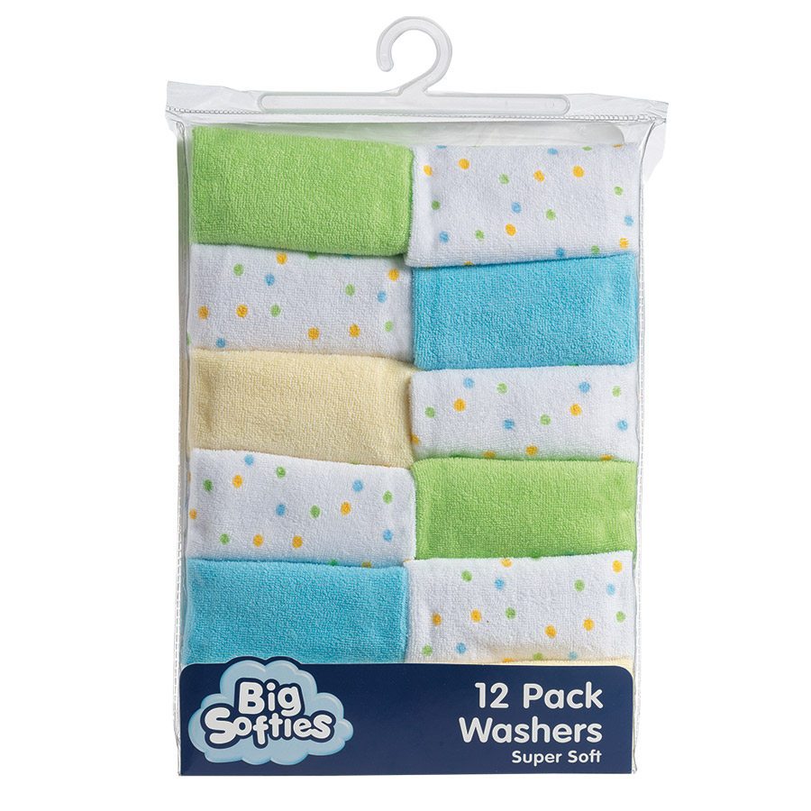 MH5553BW GRN | Big Softies | Washers